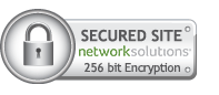 Secured Site 256-bit Encryption